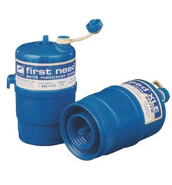 photo of a First Need water filter accessory