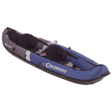 photo: Sevylor Colorado Canoe inflatable canoe