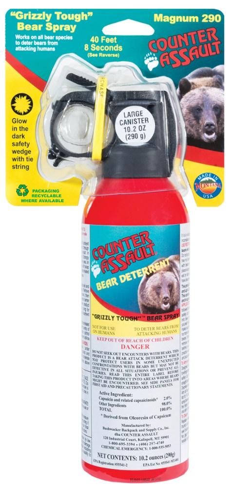 photo: Counter Assault Bear Deterrent bear spray