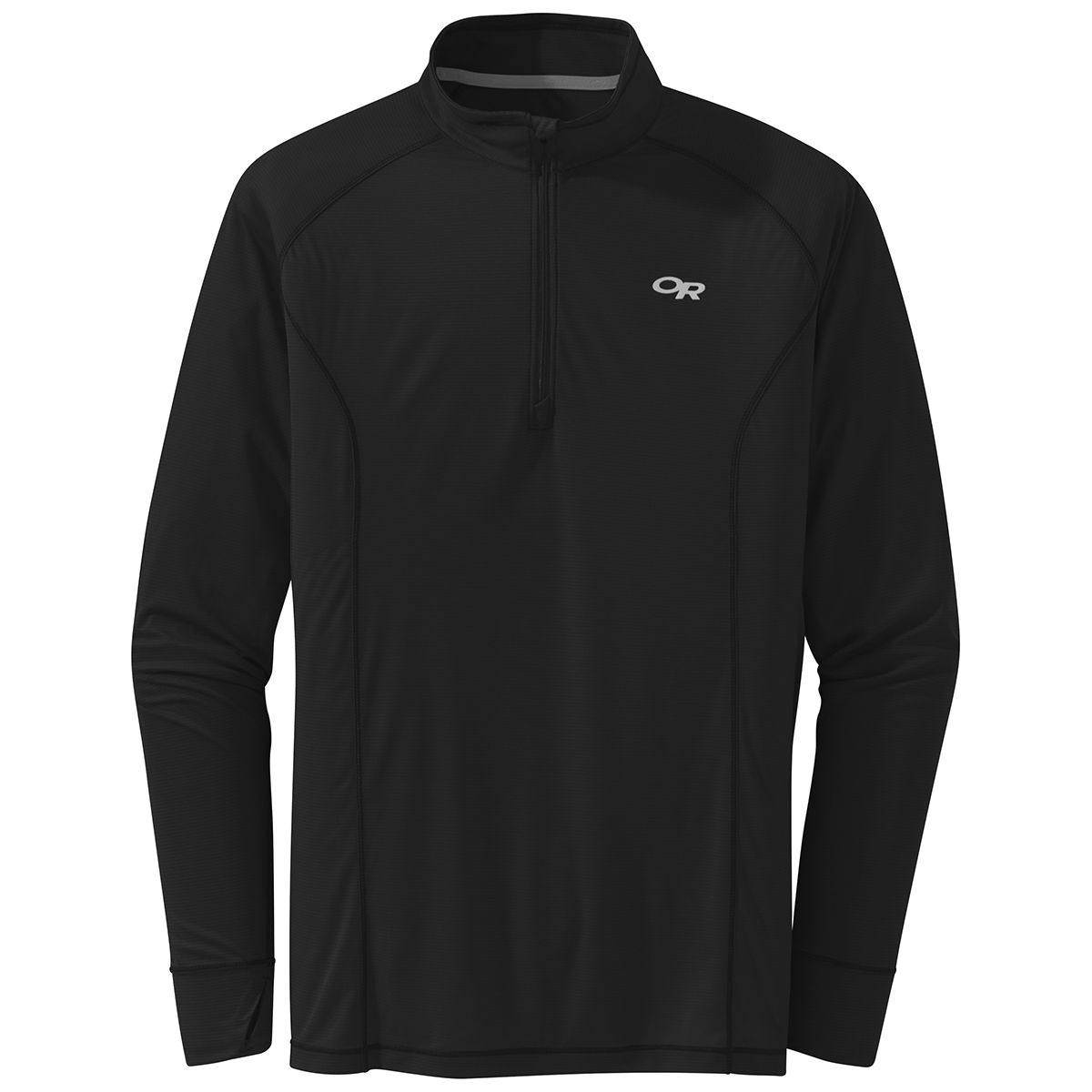 photo: Outdoor Research Echo 1/4 Zip long sleeve performance top