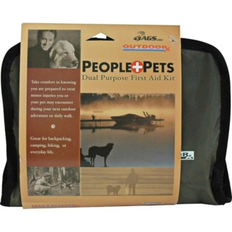 AGS Labs People + Pets Dual Purpose First Aid Kit