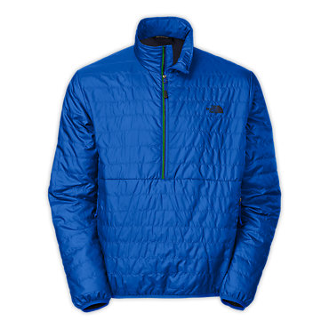 photo: The North Face Redpoint Micro 1-2 Zip Pullover synthetic insulated jacket