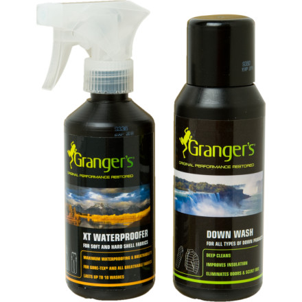 Granger's Down Wash/XT Waterproofer Kit