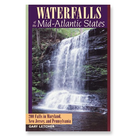 photo: Countryman Press Waterfalls of the Mid-Atlantic States us northeast guidebook
