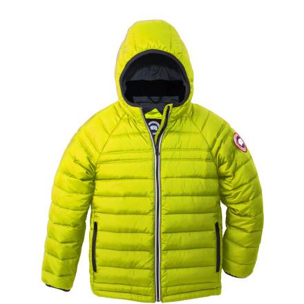 photo: Canada Goose Sherwood Hooded Jacket down insulated jacket