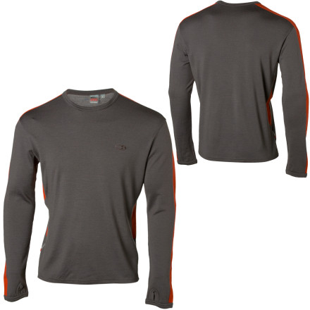 photo: Icebreaker Bodyfit 260 Slalom Crewe base layer top