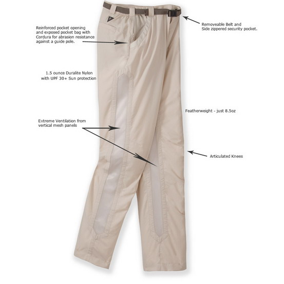 RailRiders Bone Flats Pant