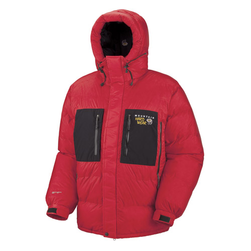 photo: Mountain Hardwear Absolute Zero Parka down insulated jacket