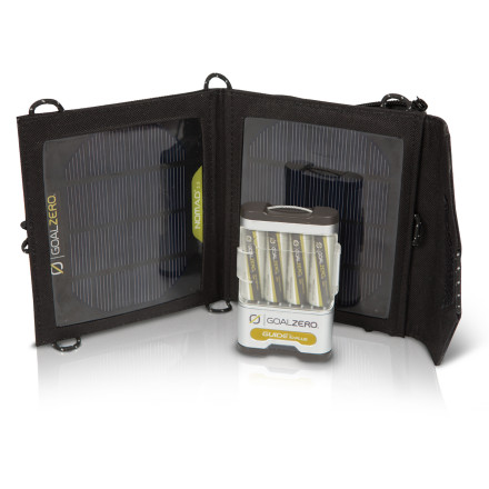 photo: Goal Zero Guide 10 Plus Mobile Kit solar panel
