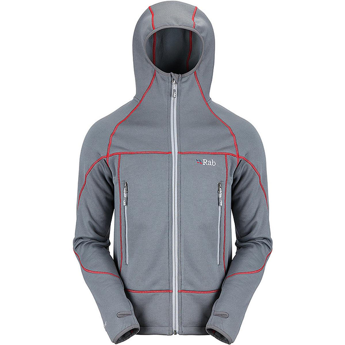 photo: Rab Men's Shadow Hoodie fleece jacket