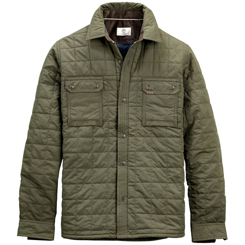 Timberland Bass River Quilted Overshirt