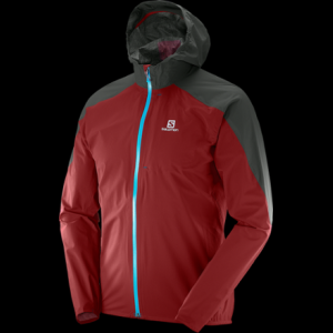 photo: Salomon Men's Bonatti Jacket waterproof jacket