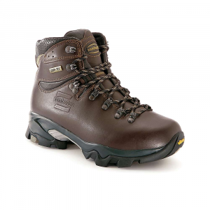 photo of a Zamberlan backpacking boot