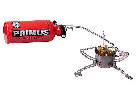 photo: Primus MultiFuel compressed fuel canister stove