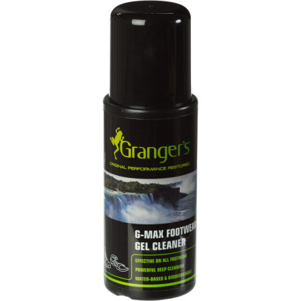 photo: Granger's G-Max Footwear Gel Cleaner footwear cleaner/treatment