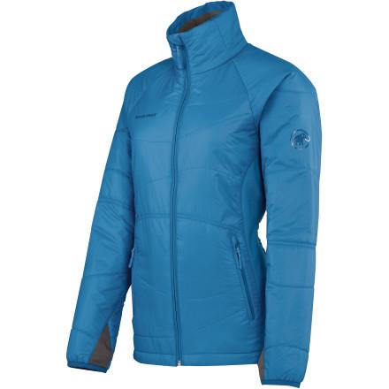 photo: Mammut Madra Hybrid Jacket synthetic insulated jacket