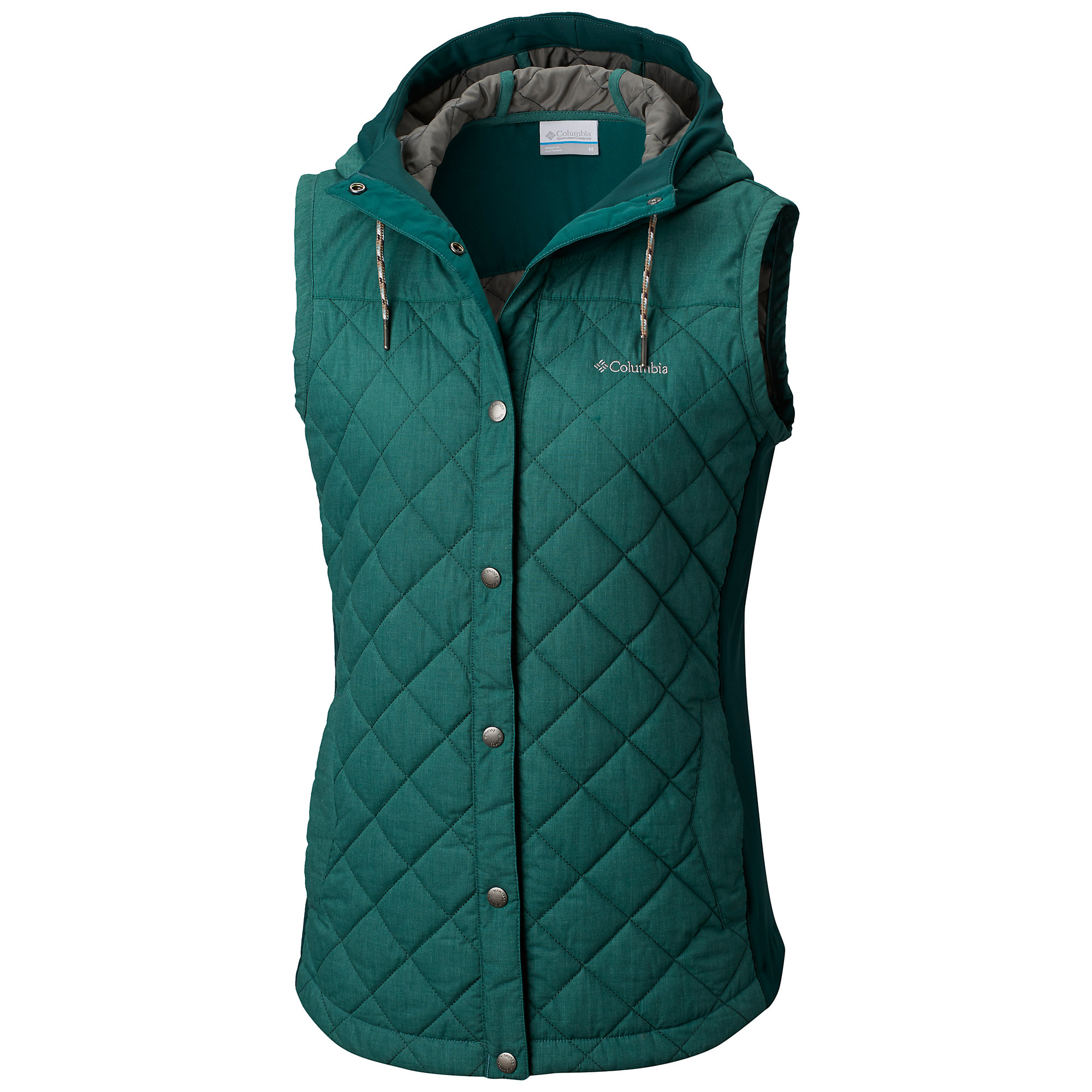 photo: Columbia Pilsner Peak Vest synthetic insulated vest