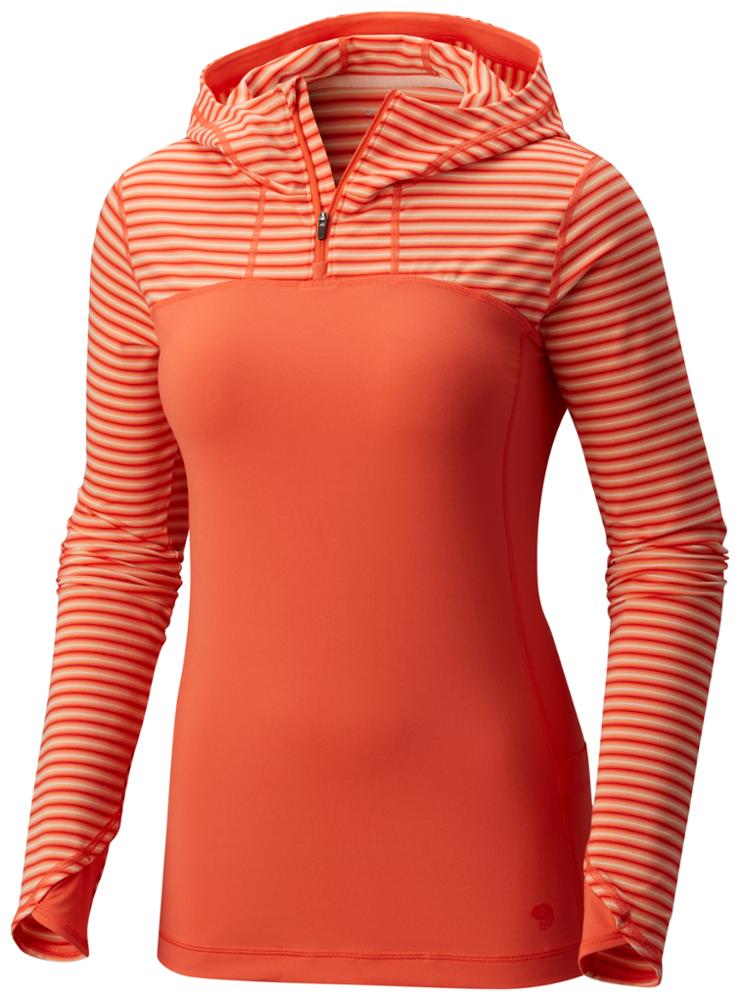 photo: Mountain Hardwear Butterlicious Long Sleeve Hoodie long sleeve performance top