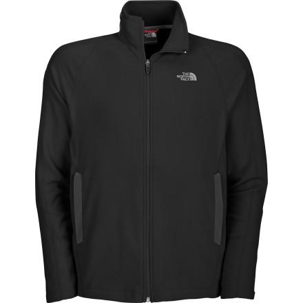 photo: The North Face Men's RDT 100Wt Full Zip fleece jacket