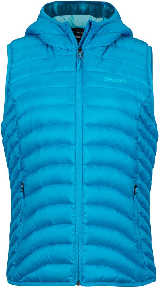 photo: Marmot Bronco Hooded Vest down insulated vest