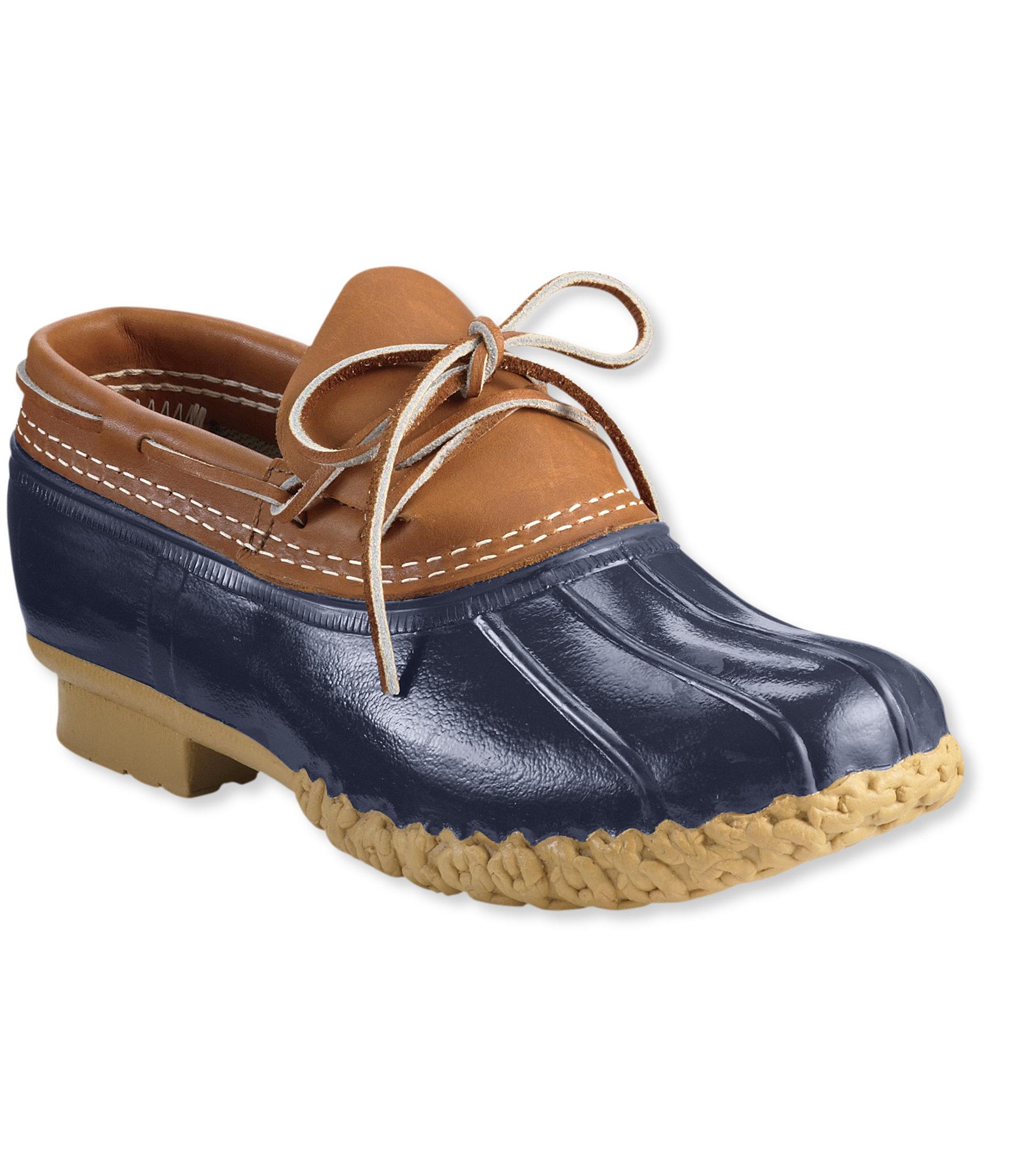 L.L.Bean Bean Boots, Rubber Moc