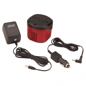 photo: Coleman 6V CPX Rechargeable Battery Pack with 12V and 120V Chargers power storage