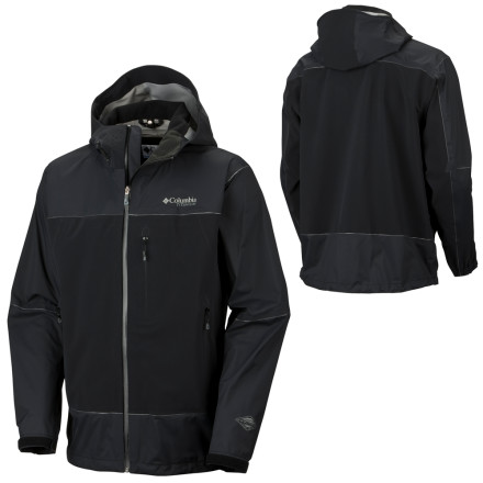 photo: Columbia Peak Ascent Shell waterproof jacket