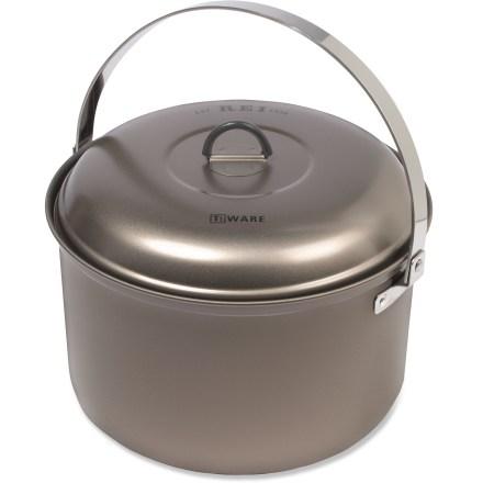 REI Ti Ware Nonstick Titanium Pot - 4 Liter