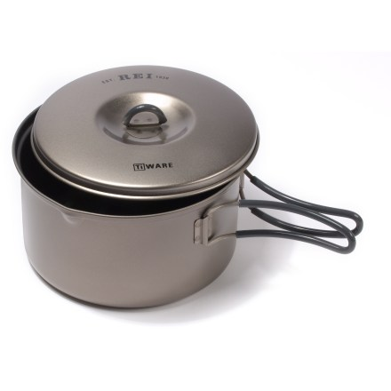 photo: REI Ti Ware Nonstick Titanium Pot - 1.3 Liter pot/pan