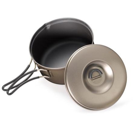 REI Ti Ware Nonstick Titanium Pot - 0.9 Liter