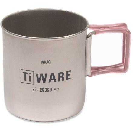 REI Ti Ware Mug - 0.4 Liter