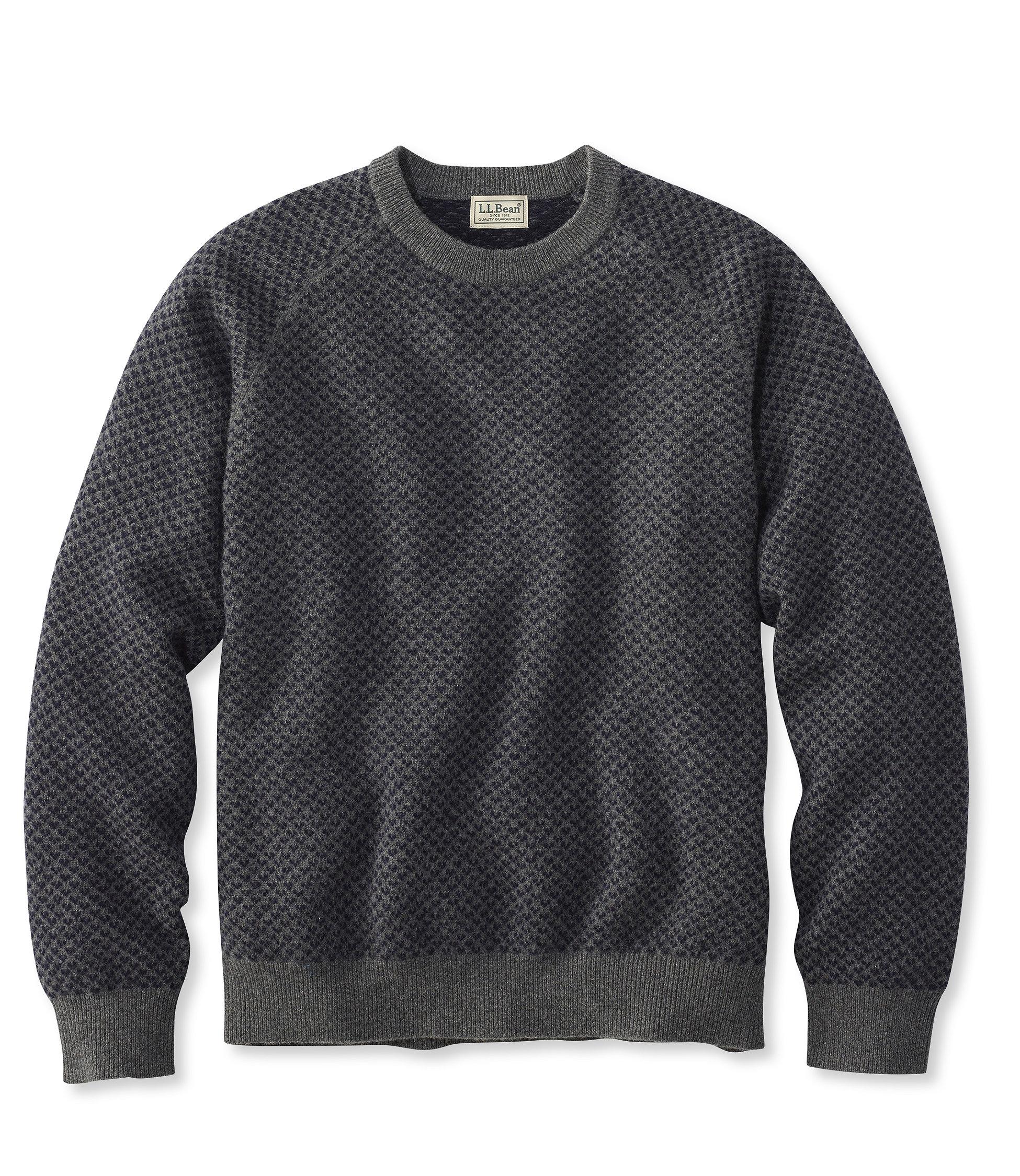L.L.Bean Lambswool Crewneck Sweater