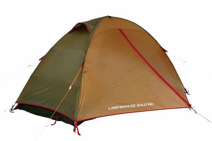 photo: Snow Peak Landbreeze Solo Trail three-season tent