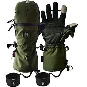 photo:   The Heat Company Heat 3 Smart insulated glove/mitten