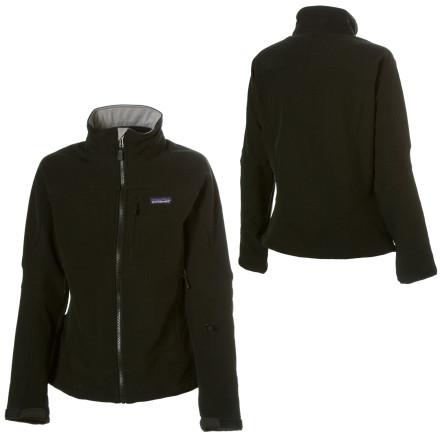 photo: Patagonia Women's Talus Jacket soft shell jacket