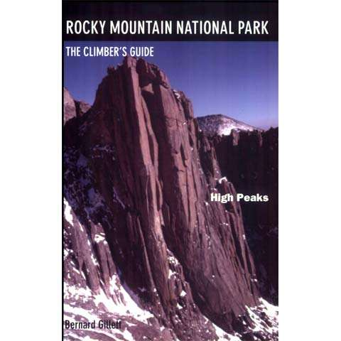 Earthbound Sports Rocky Mountain National Park - The Climbers's Guide to High Peaks