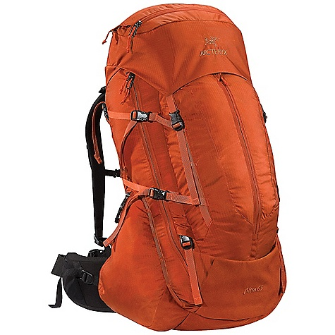 photo: Arc'teryx Altra 65 LT weekend pack (3,000 - 4,499 cu in)