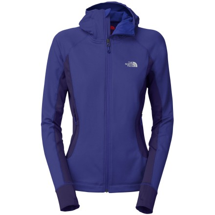 photo: The North Face Women's Defroster Hoodie fleece jacket