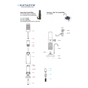 Katadyn Drip TRK Outlet Tap Kit
