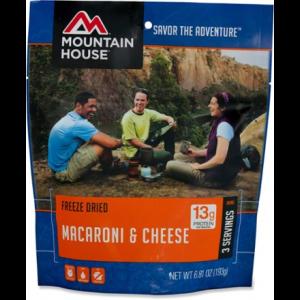 photo: Mountain House Macaroni & Cheese vegetarian entrée