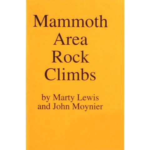 AlpenBooks Mammoth Area Rock Climbs