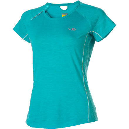 photo: Icebreaker SS Rush Crewe short sleeve performance top