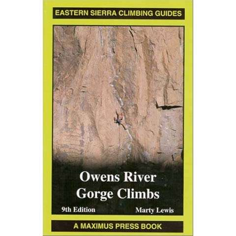 photo: Maximus Press Owens River Gorge Climbs us pacific states guidebook