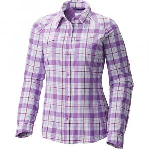 photo: Columbia Women's Silver Ridge Plaid Long Sleeve Shirt hiking shirt