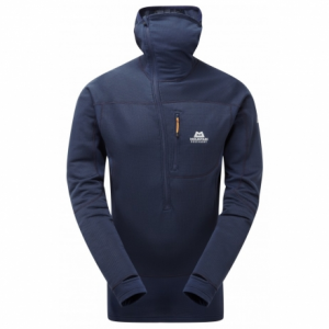photo: Mountain Equipment Eclipse Hooded Zip Tee fleece top