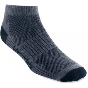 photo: WrightSock CoolMesh II Lo Quarter Sock running sock