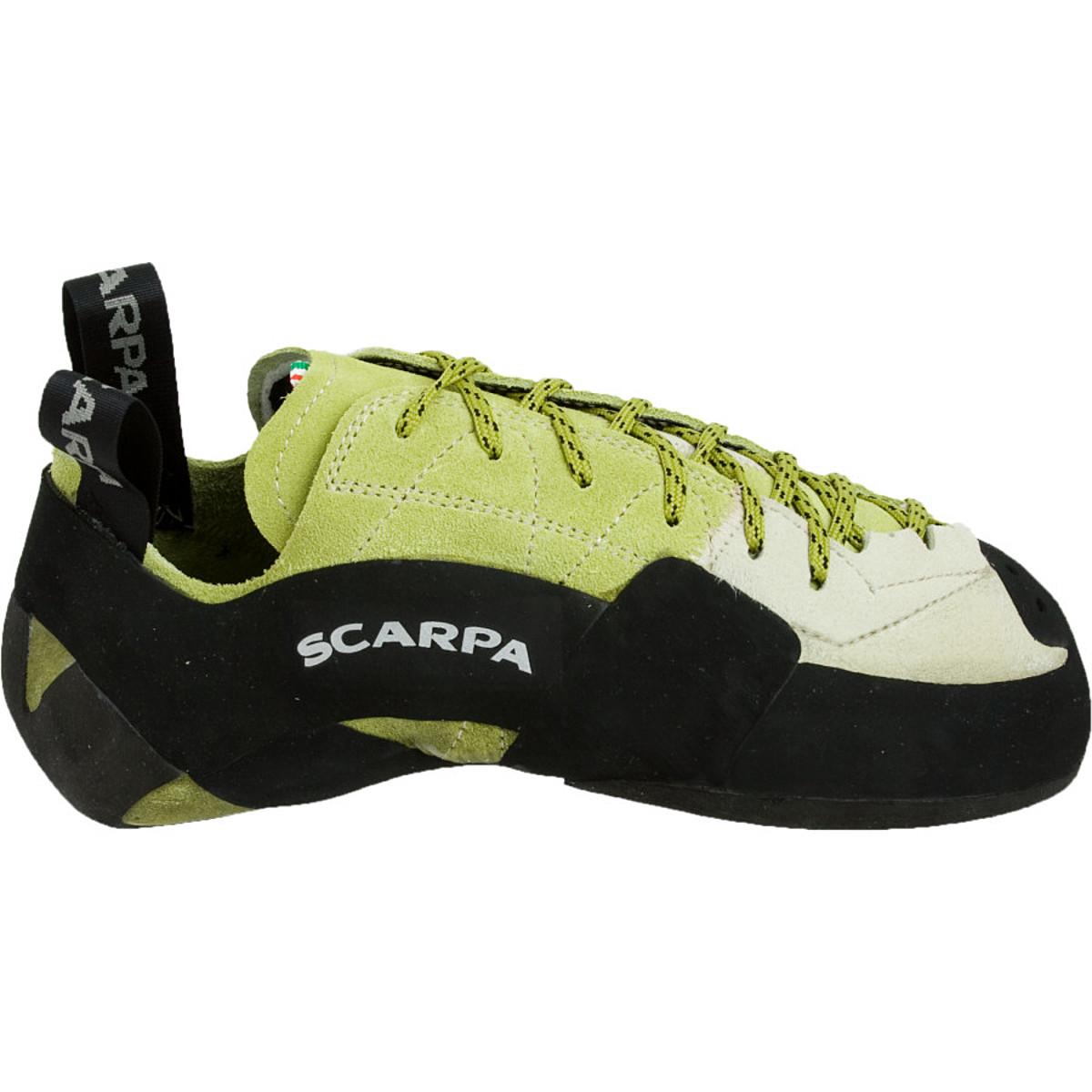photo: Scarpa Mago climbing shoe