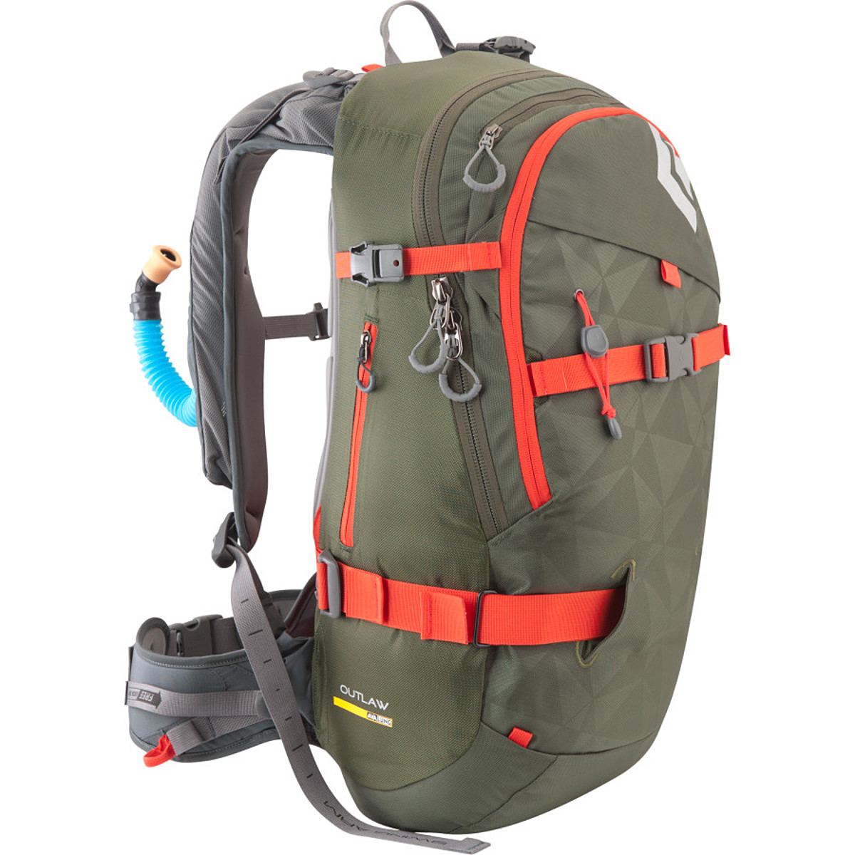 photo: Black Diamond Outlaw AvaLung winter pack