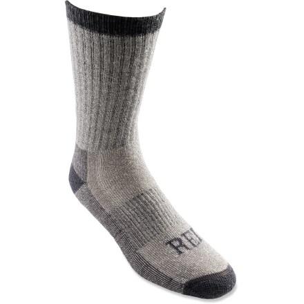 photo: REI Merino Wool Midweight Crew Sock hiking/backpacking sock