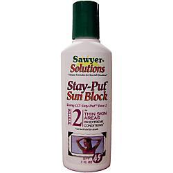 photo: Sawyer Stay-Put Sunscreen SPF 50 sunscreen